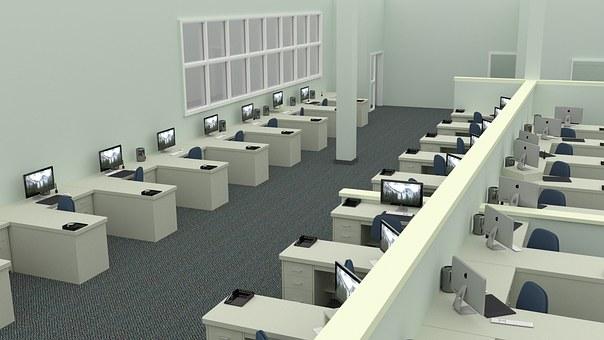 オフィス, 仕事, デスク, ビジネス, コンピュータ, 企業, 作業, 実業家