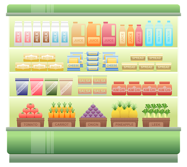 supermarket shelf chiller 183 free image on pixabay