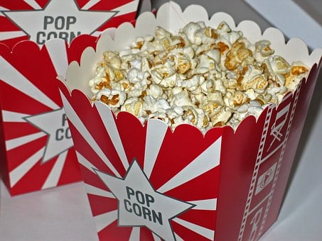 Popcorn Cinema Snack Corn Sweet Nibbl