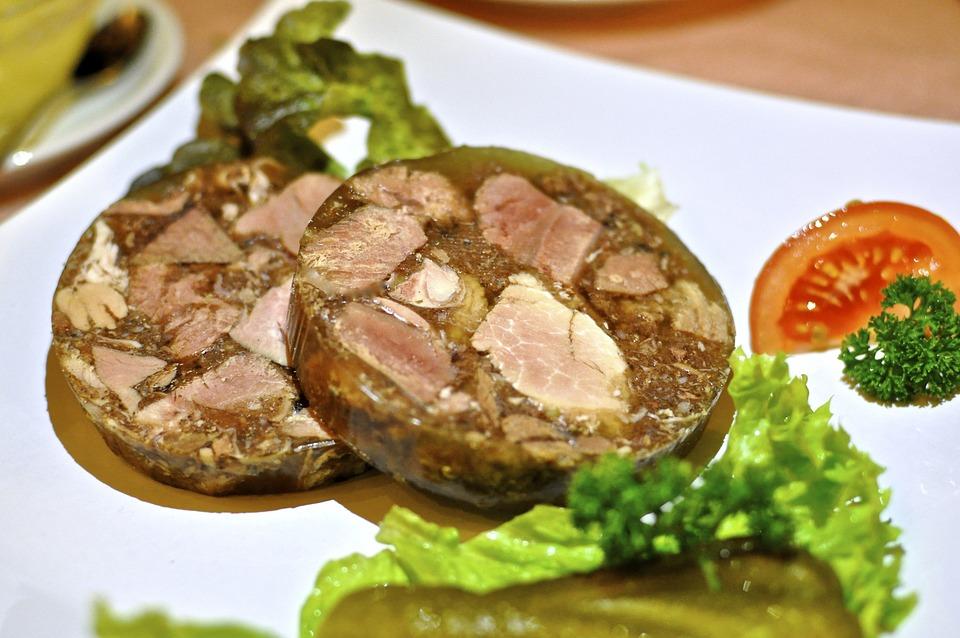 Gelatina De Carne, Carne Silvestre De Gelatina, Comer