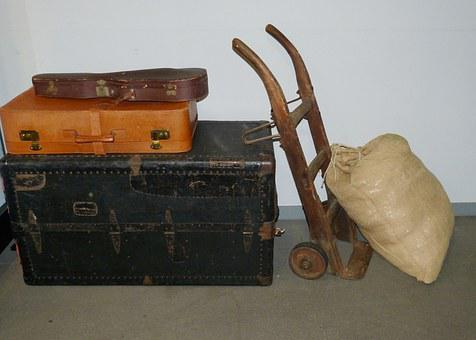 Luggage, Cart, Sack Truck, Bag
