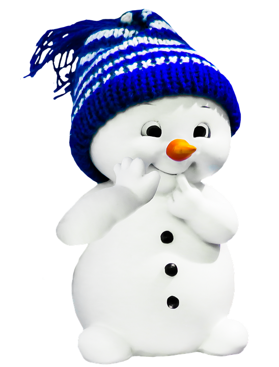 Free illustration: Snow Man, Winter, Fig, Lucky Charm - Free Image on ...