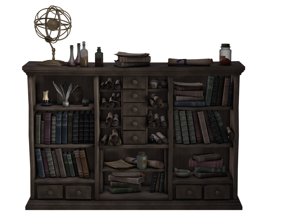 Shelf Wooden Bookshelf Free Image On Pixabay