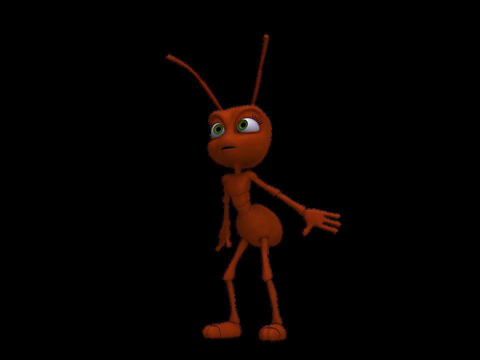 7800 Gambar Animasi Hewan Semut HD