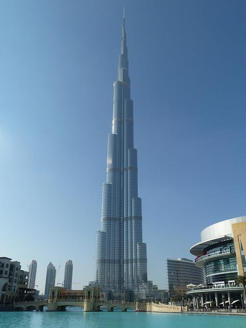 Free Photo Burj Khalifa Building Dubai City Free