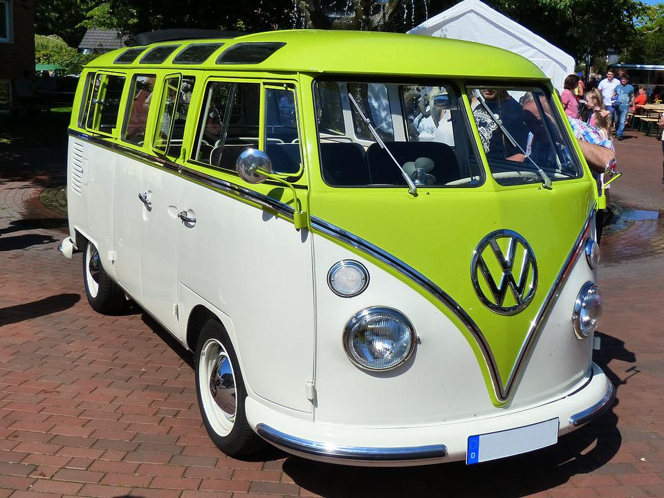 Free Photo Vw Bus Oldtimer Historically Free Image On