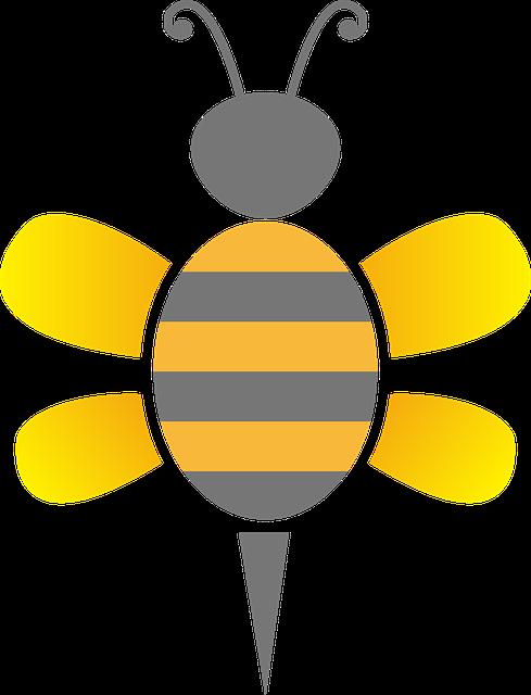벌 꿀벌 곤충 183 Pixabay의 무료 벡터 그래픽