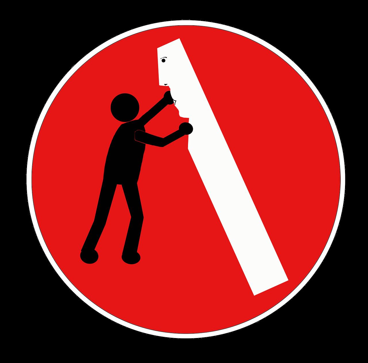 Дорожные знаки смешные в картинках, открытка мороженое