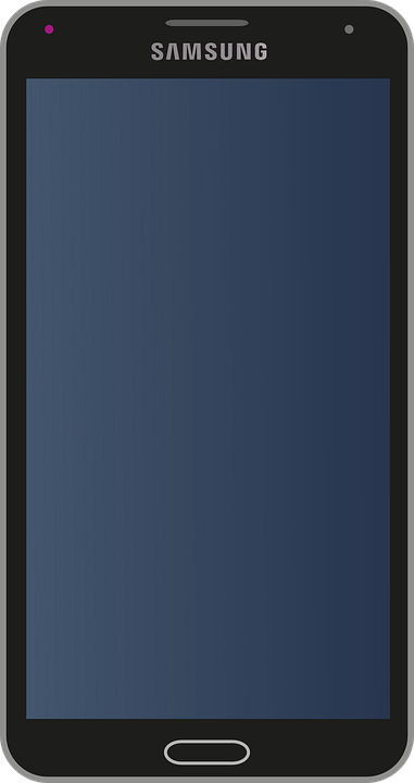 Free vector graphic: Samsung, Mobile, Mobile Phone - Free