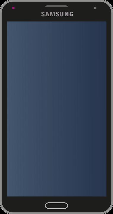 Samsung mobile telefono cellulare grafica vettoriale for Mobile telefono