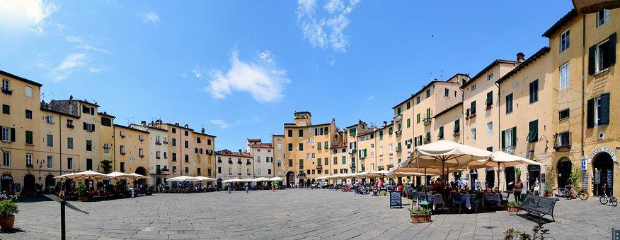 Geheimtipp Lucca: Piazza Anfiteatro