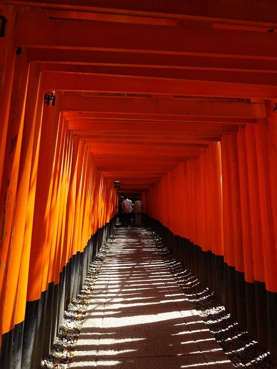 伏見稲荷大社 千本鳥居 京都 Pixabayの無料写真