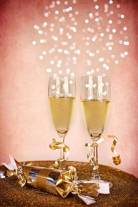 champagne nytår
