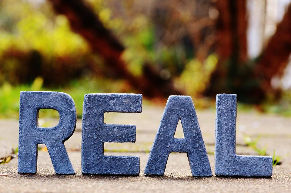 Reality, Real, Really, True, Lettering, Letters