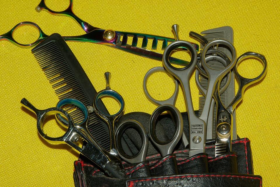 Nożyczki fryzjerskie