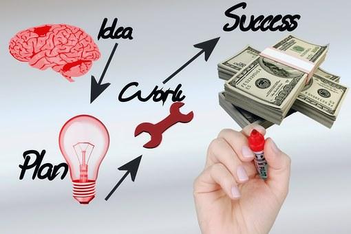 Uang, Dollar, Sukses, Pertumbuhan