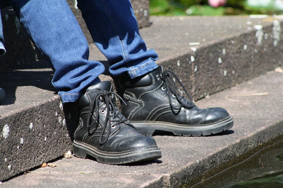 Work Shoes, Rest, Legs, Boots, Leisure, Feet, Craftsmen