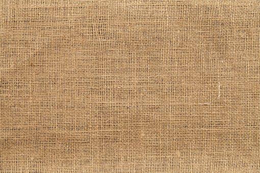 Texture Fabric Burlap Background