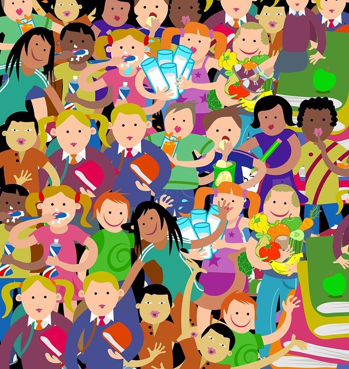 Gratis Tecknade Bilder På Barn