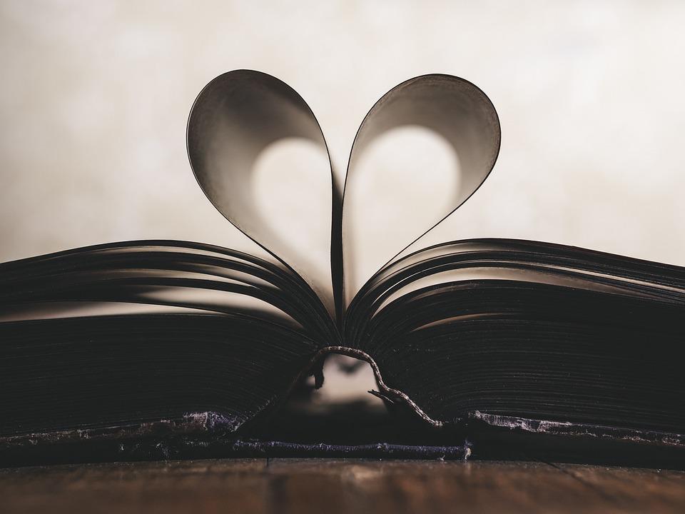 Paper, Heart, Symbol, Romance, Valentine, Love, Open