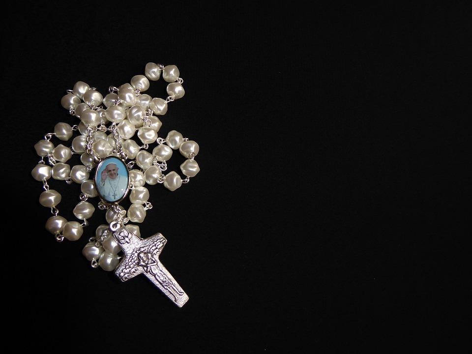 Pray Rosary Beads Free Photo On Pixabay