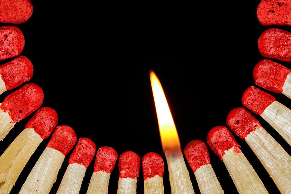 match flame lighter free photo on pixabay