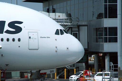 A380, Airbus, Aeronaves, Cabina