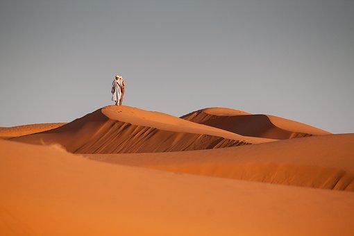 사막, 모로코, 모래, 모래 언덕