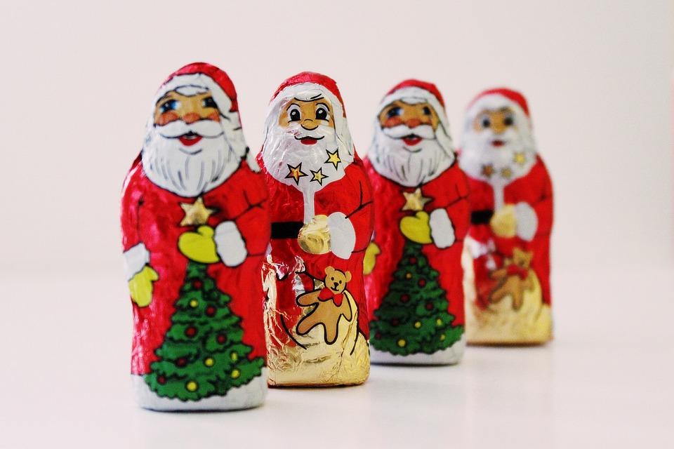Weihnachtsm 228 Nner Schokolade 183 Kostenloses Foto Auf Pixabay