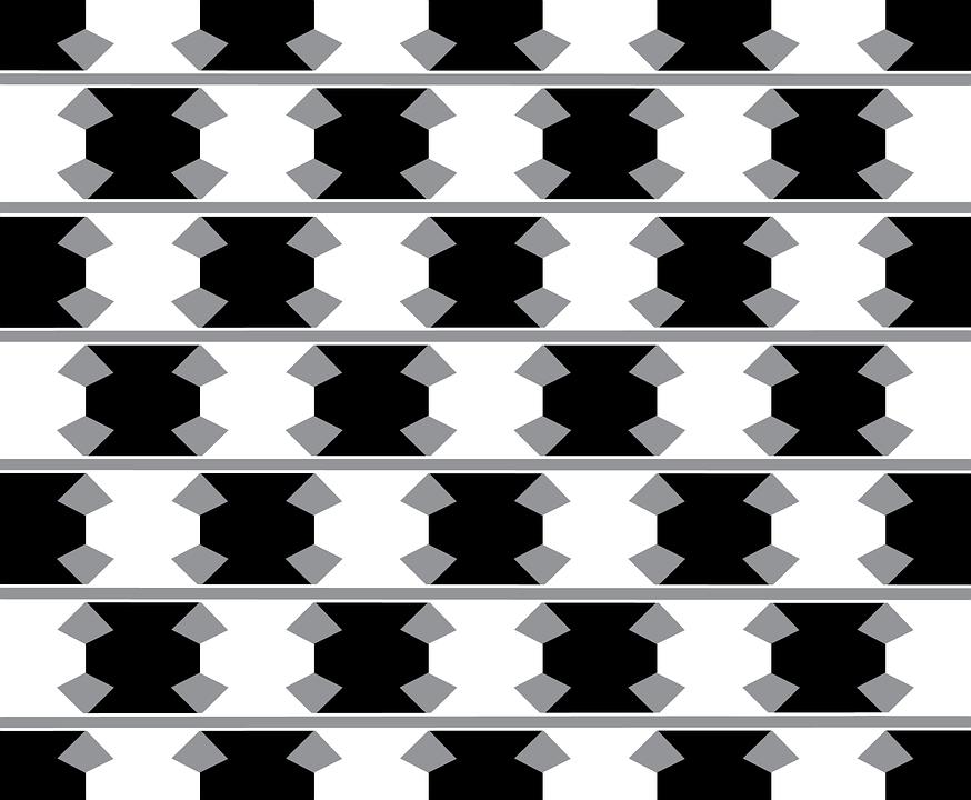 Cuadros en blanco y nego ilusion optica blanco y negro - Cuadro blanco y negro ...