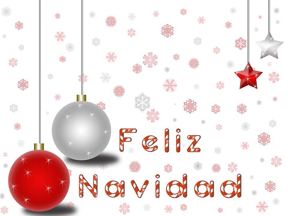 Ilustraci n gratis navidad bola navide o fiestas - Bolas de navidad rojas ...