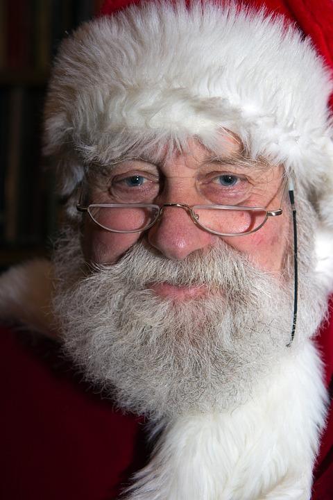 free photo  happy christmas  santa