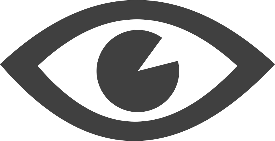 free vector graphic eye see viewing icon free image on