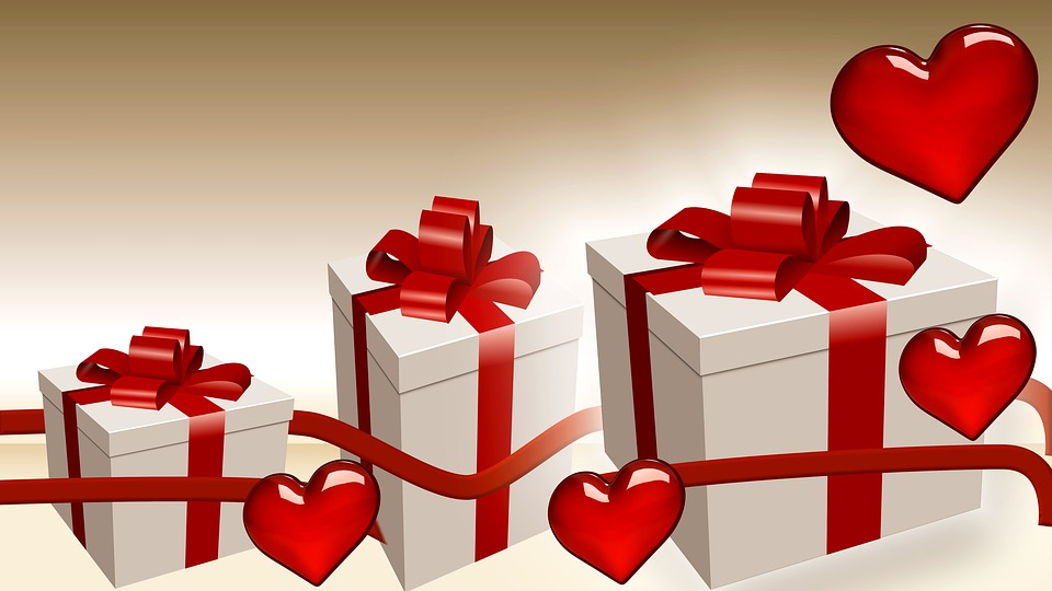 Free Illustration Box Gift Love ValentineS Day Free