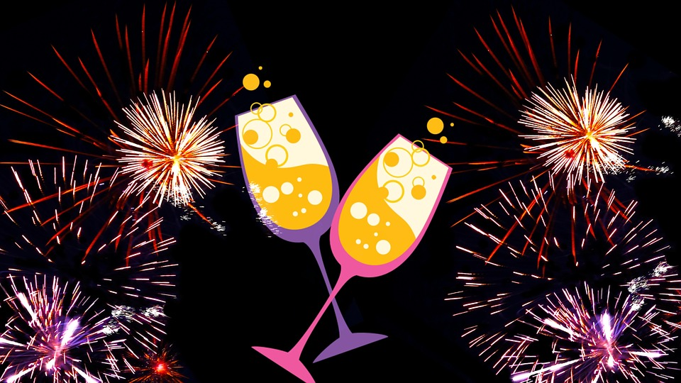 New years eve greeting card free image on pixabay new years eve greeting card fireworks party m4hsunfo