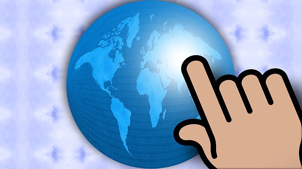 Globe, Hand, Global, Concept, Abstract