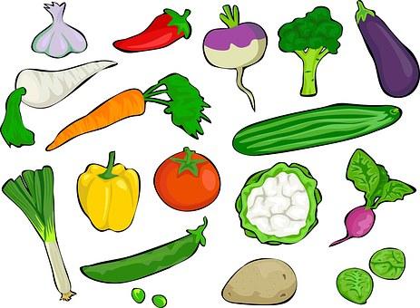 Verdure, Cibo, Generi Alimentari, Dieta