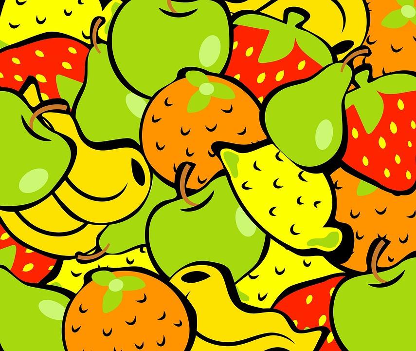 Free Illustration: Fruit, Food, Wallpaper, Background