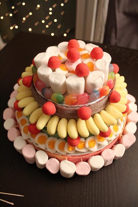 Candy Kuchen Sussigkeiten Kostenloses Foto Auf Pixabay