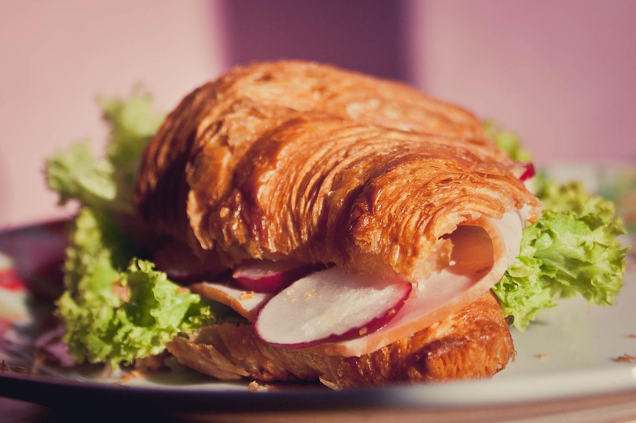 Turkey with Mango Mayo Croissant Recipe
