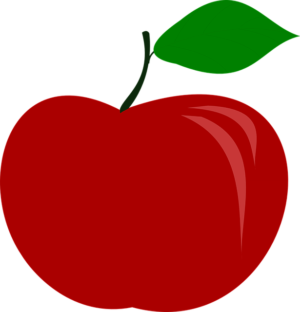 free vector graphic  apple  fruit  food - free image on pixabay