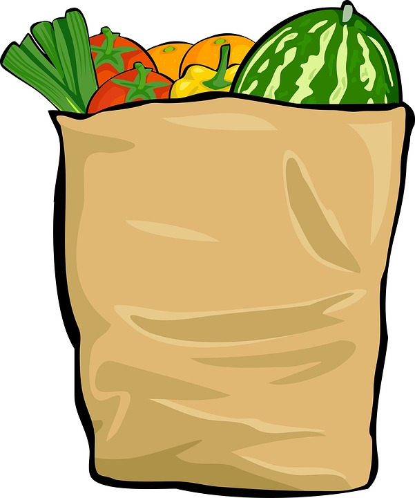 bag shopping groceries free image on pixabay rh pixabay com grocery bag clipart black and white grocery bag clipart free