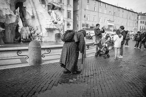 Piazza Navona, Rome, Italie, Rue