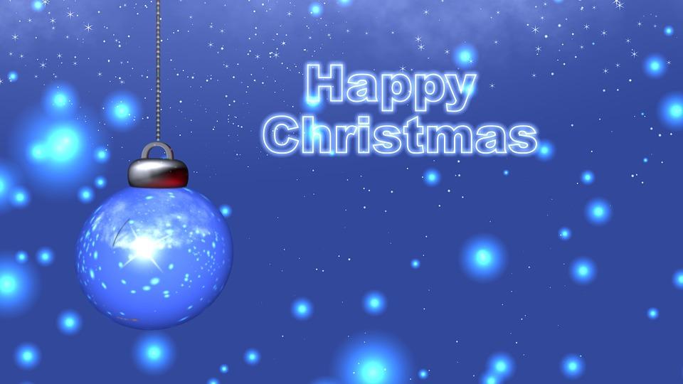Gratis illustratie vrolijk kerstmis kerst vakantie for Fond ecran jul