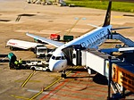 airport, aircraft, departure
