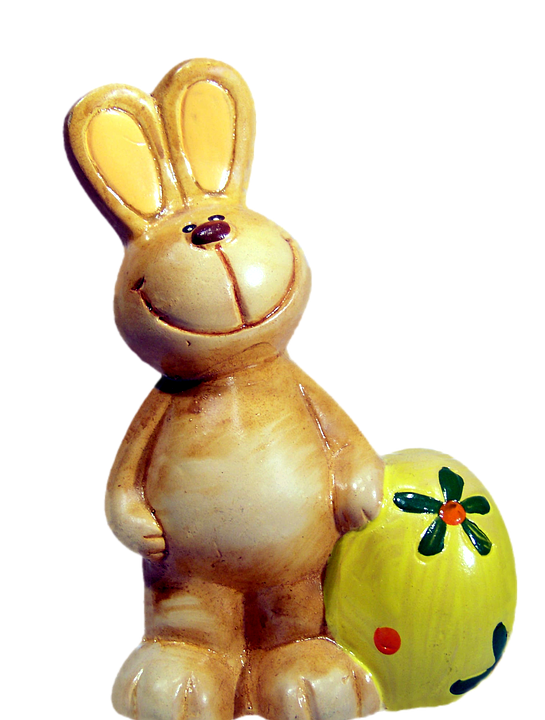 Photo gratuite lapin de p ques d coration image for Decoration lapin de paques