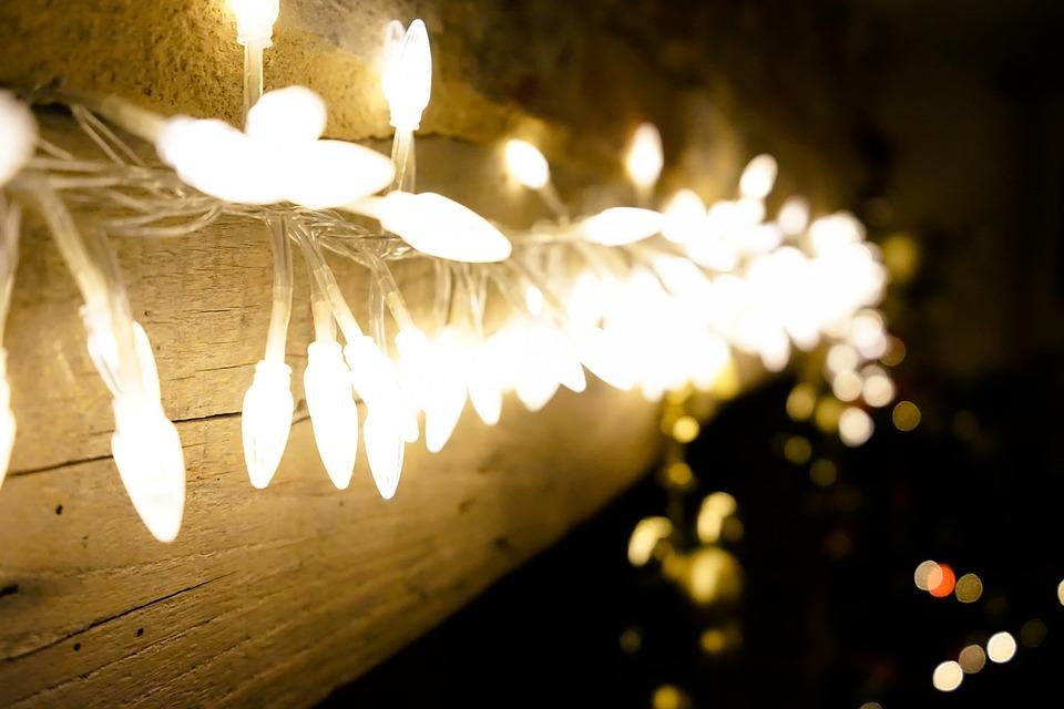 Foto gratis luces navidad luces de navidad imagen - Luces para navidad ...