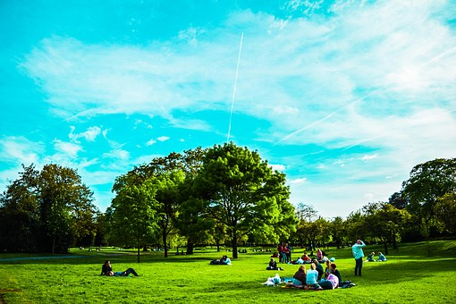 United Kingdom, London, Park