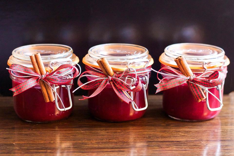 Marmelade, Krug, Weihnachten, Hausgemachte