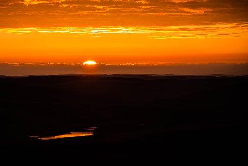 日の出, 初期, クラウド, 朝, 風景, 自然, 日の出の風景, 風光明媚な